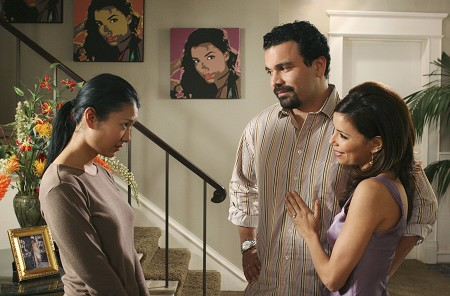 Desperate Housewives : Photo Eva Longoria, Gwendoline Yeo, Ricardo Chavira