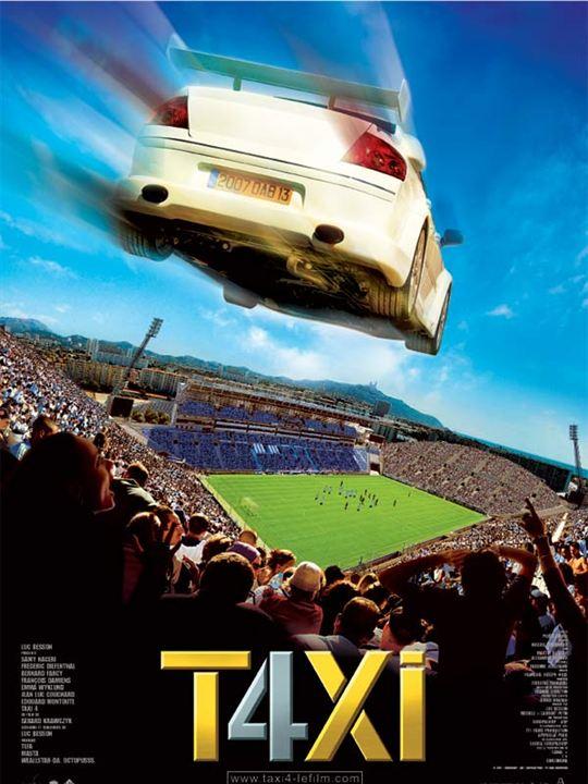 Taxi 4 : Affiche