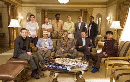 Ocean's 13 : Photo Bernie Mac, Brad Pitt, Don Cheadle, Elliott Gould, George Clooney