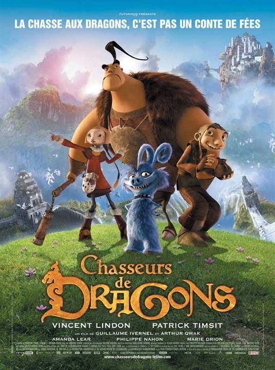 Chasseurs de dragons : affiche