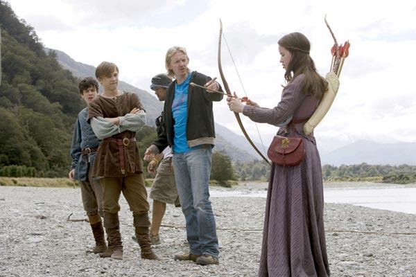 Le Monde de Narnia : Chapitre 2 - Le Prince Caspian : Photo Andrew Adamson, Anna Popplewell, William Moseley