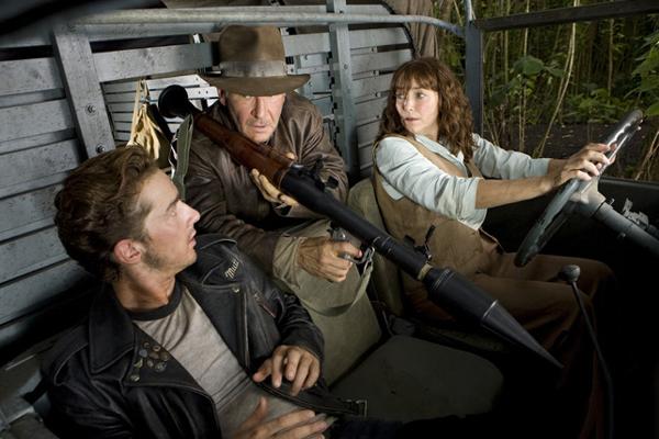 Indiana Jones et le Royaume du Crâne de Cristal : Photo Harrison Ford, Karen Allen, Shia LaBeouf