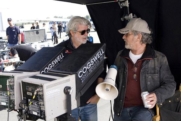 Indiana Jones et le Royaume du Crâne de Cristal : Photo George Lucas, Steven Spielberg