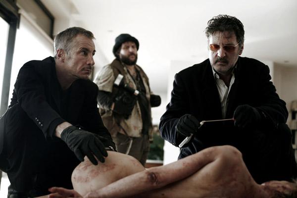 MR 73 : Photo Daniel Auteuil, Gérald Laroche, Guy Lecluyse, Olivier Marchal