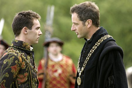 Les Tudors : Photo Jeremy Northam, Jonathan Rhys-Meyers
