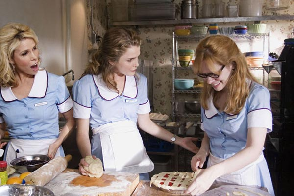 Waitress : Photo Adrienne Shelly, Cheryl Hines, Keri Russell