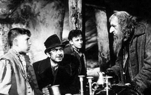 Oliver Twist : Photo Alec Guinness, John Howard Davies, Robert Newton