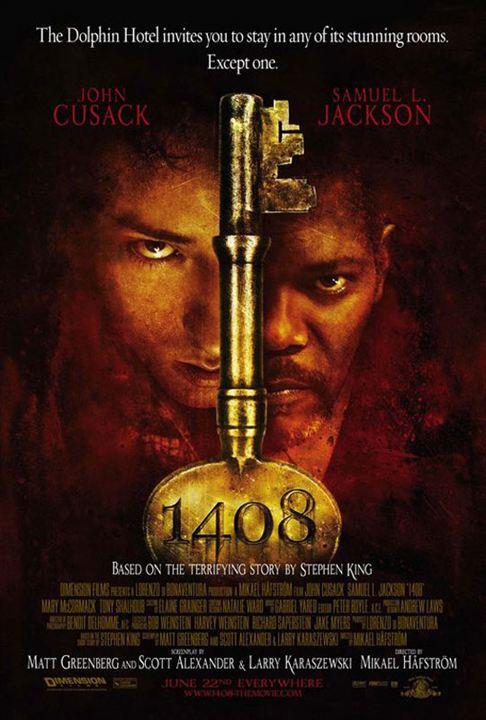 Chambre 1408 : Affiche John Cusack, Mikael Hafstrom, Samuel L. Jackson