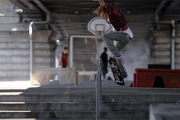 Skate or Die : Photo Mickey Mahut, Miguel Courtois Paternina