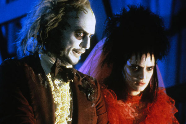 Beetlejuice : Photo Michael Keaton, Winona Ryder