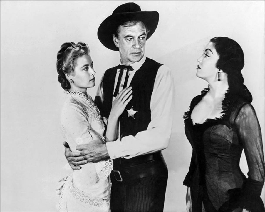Le Train sifflera trois fois : Photo Gary Cooper, Grace Kelly, Katy Jurado