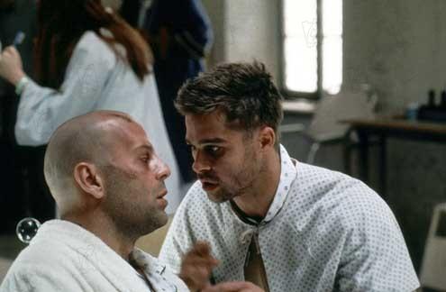 L'Armée des 12 singes : Photo Brad Pitt, Bruce Willis, Terry Gilliam