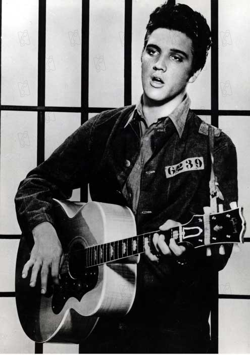 Le Rock du bagne : Photo Elvis Presley, Richard Thorpe
