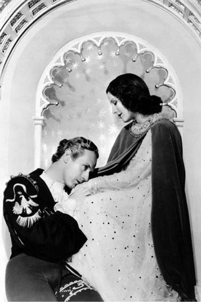 Roméo et Juliette : Photo Leslie Howard, Norma Shearer