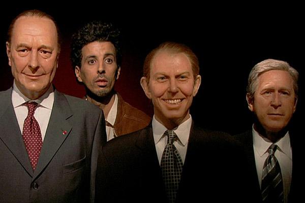 Andalucía : Photo Alain Gomis, George W. Bush, Jacques Chirac, Samir Guesmi, Tony Blair