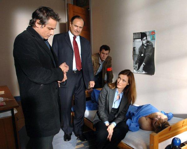 Alice Nevers, le juge est une femme : Photo Grégori Baquet, Jean-Michel Tinivelli, Marine Delterme, Xavier Letourneur