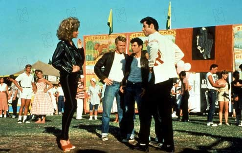 Grease : Photo John Travolta, Olivia Newton-John