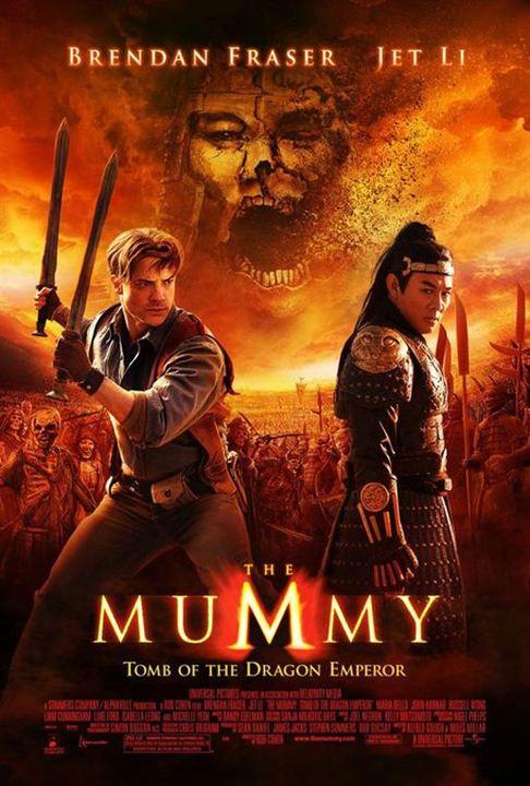 La Momie : la Tombe de l'Empereur Dragon : Affiche Rob Cohen