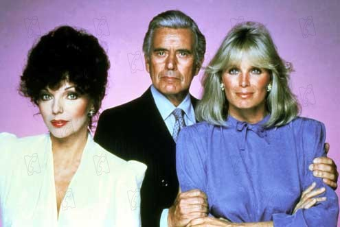 Dynastie : Photo Joan Collins, John Forsythe, Linda Evans