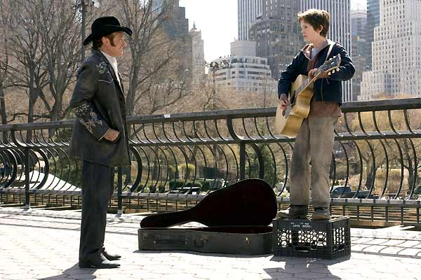 August Rush : Photo Freddie Highmore, Kirsten Sheridan, Robin Williams