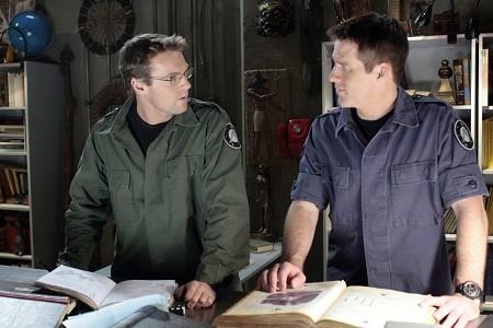 Stargate SG-1 : Photo Ben Browder, Michael Shanks (I)