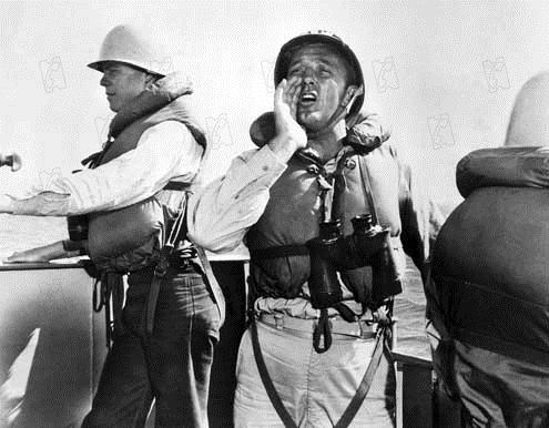 Torpilles sous l'Atlantique : Photo Dick Powell, Robert Mitchum