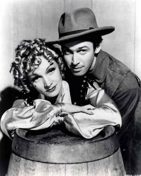 Femme ou démon : Photo George Marshall, James Stewart, Marlene Dietrich
