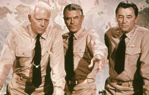 La Bataille de Midway : Photo Glenn Ford, Jack Smight, Robert Mitchum