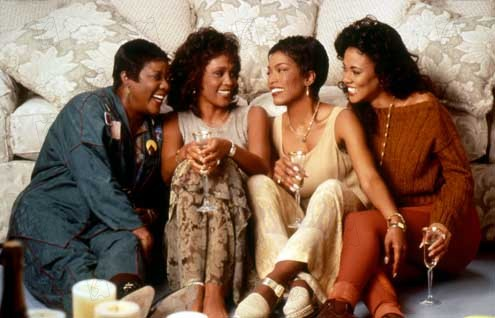 Où sont les hommes ? : Photo Angela Bassett, Forest Whitaker, Lela Rochon, Loretta Devine, Whitney Houston
