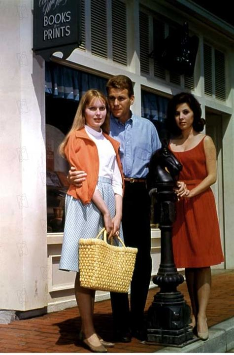 Photo Barbara Parkins, Mia Farrow, Ryan O'Neal