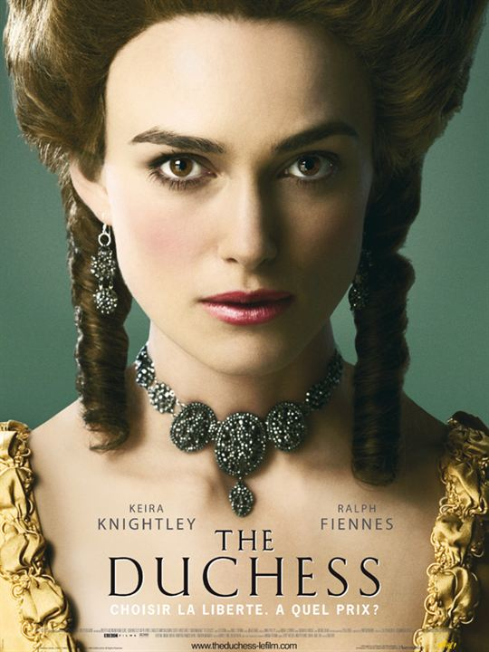 The Duchess : Affiche Keira Knightley, Saul Dibb