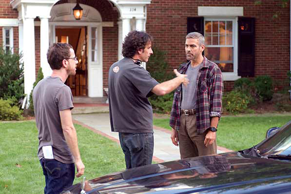 Burn After Reading : Photo Ethan Coen, George Clooney