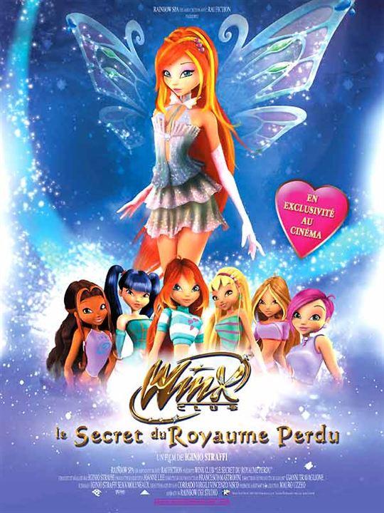 Affiche du film Winx Club : le secret du royaume perdu ...
