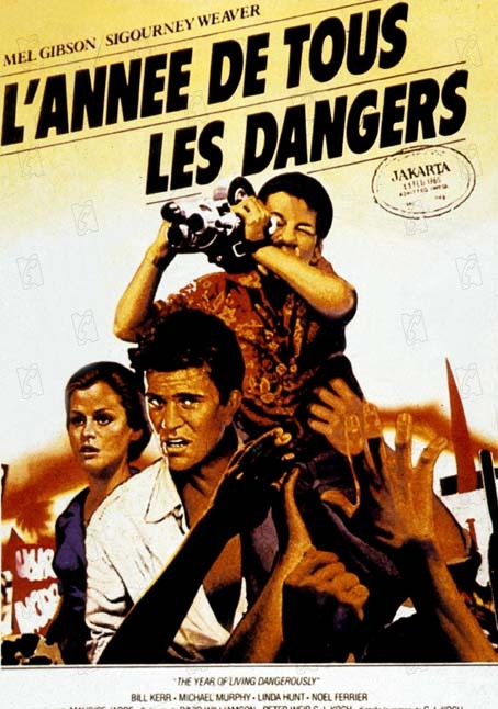 L'Année de tous les dangers : Affiche Peter Weir