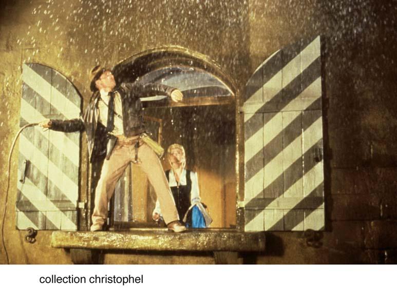 Indiana Jones et la Dernière Croisade : Photo Alison Doody, Harrison Ford