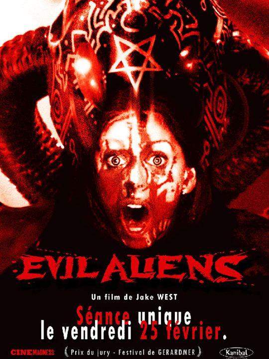 Evil Aliens : Affiche