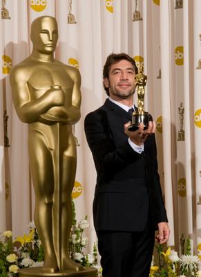 Cérémonie des Oscars 2008 : Photo Javier Bardem