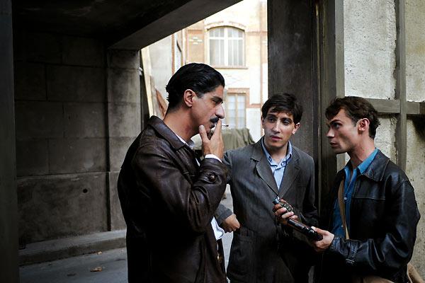 L'Armée du crime : Photo Robinson Stévenin, Simon Abkarian