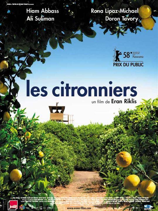 Les Citronniers : Affiche