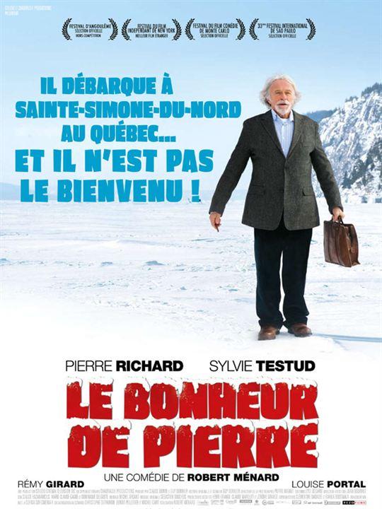Le Bonheur de Pierre : affiche Robert Ménard