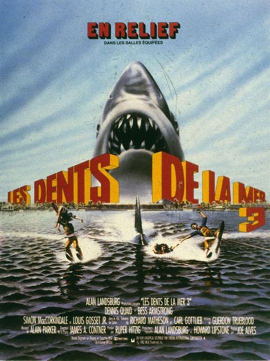 Les Dents de la mer 3 : Affiche