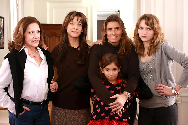LOL (Laughing Out Loud) ® : Photo Christa Théret, Françoise Fabian, Lisa Azuelos, Sophie Marceau, Thaïs Alessandrin