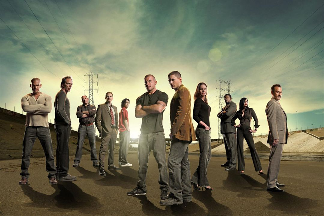 Prison Break : Photo Amaury Nolasco, Cress Williams, Dominic Purcell, James Hiroyuki Liao, Jodi Lyn O'Keefe