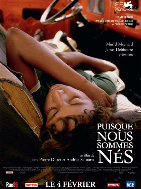 Puisque nous sommes nés : affiche Jean-Pierre Duret