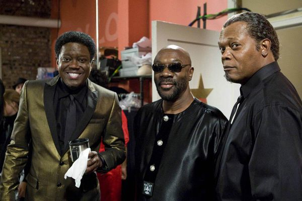 Soul Men : Photo Bernie Mac, Isaac Hayes, Malcolm D. Lee, Samuel L. Jackson