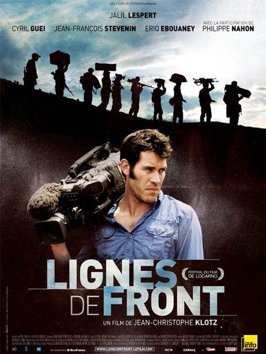 Lignes de front : Affiche Jean-Christophe Klotz