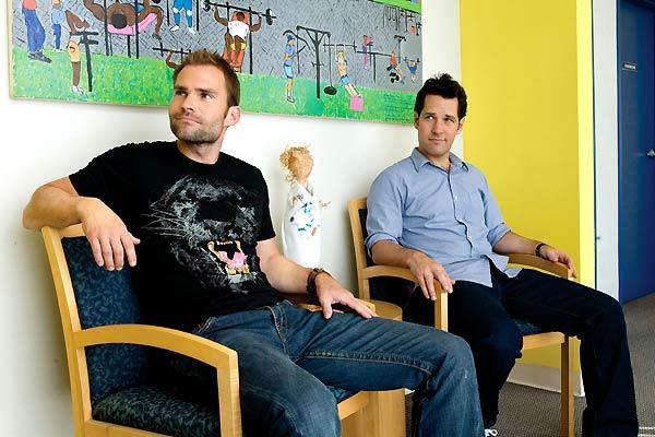 Les Grands frères : Photo David Wain, Paul Rudd, Seann William Scott