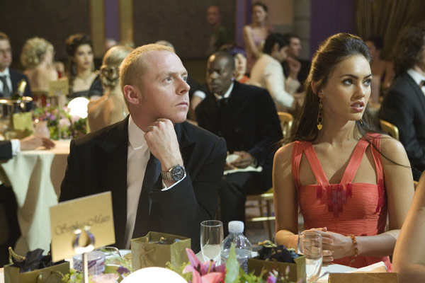 Un Anglais à New York : Photo Megan Fox, Robert B. Weide, Simon Pegg