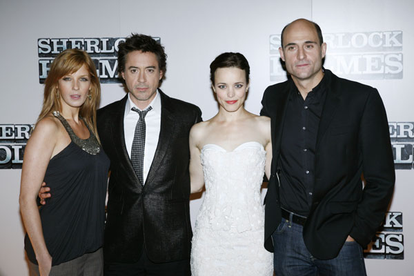 Sherlock Holmes : Photo Kelly Reilly, Mark Strong, Rachel McAdams, Robert Downey Jr.