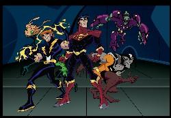 La Légende des Super Héros : Affiche